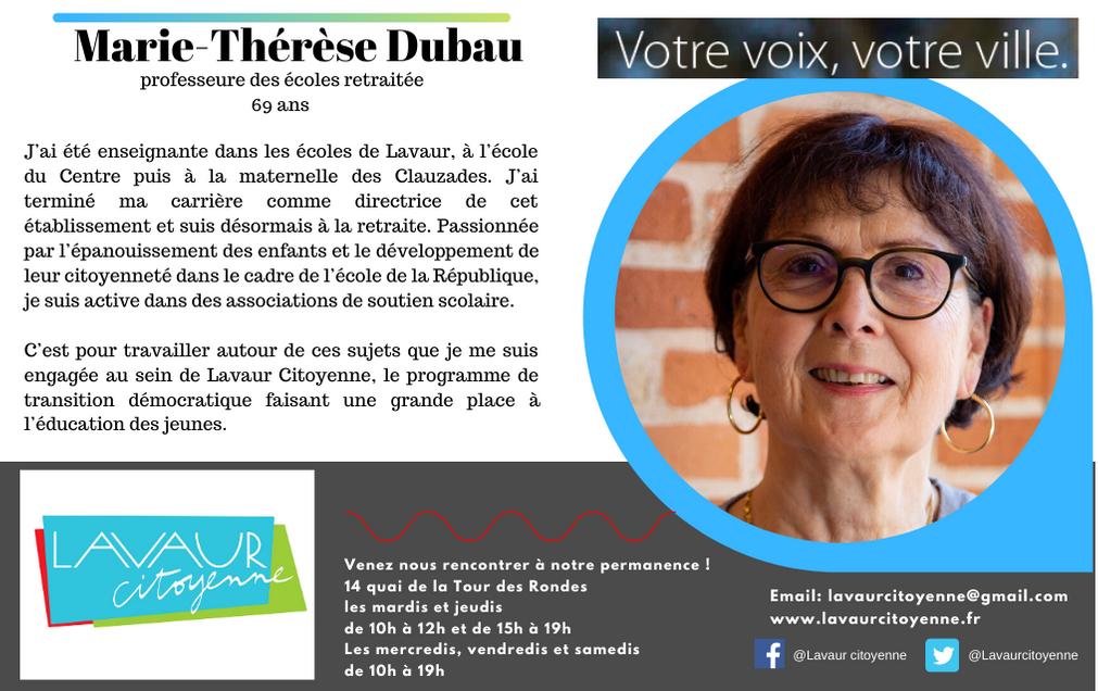 Marie-Thérèse Dubau