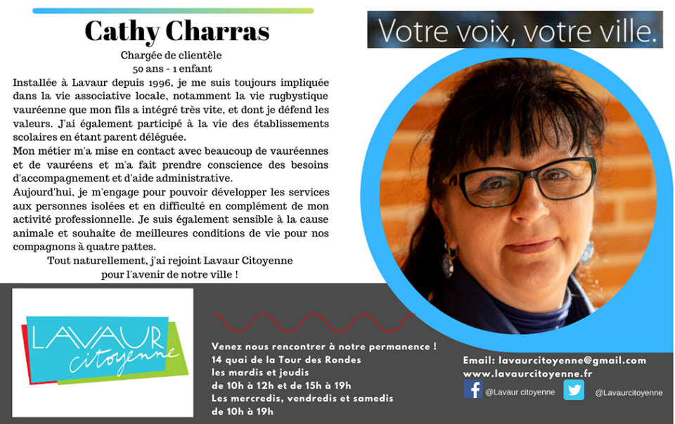 Cathy Charras