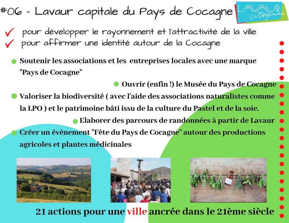 Action phare #06 Lavaur Capitale du Pays de Cocagne