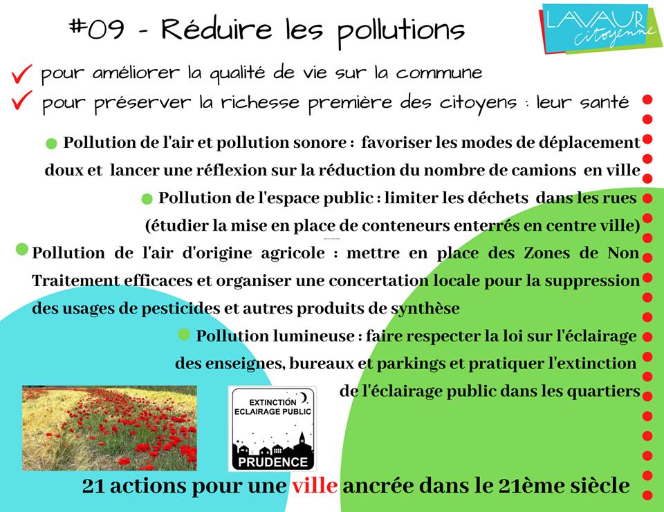 Action phare #09 Réduire les pollutions