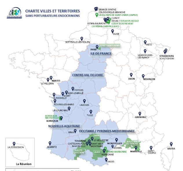 Charte Villes et Territoires Sans Perturbateurs Endocriniens