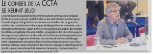 Réunion CCTA