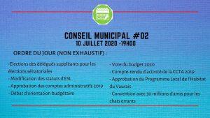 Conseil Municipal #2