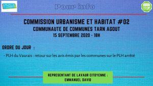 Commission urbanisme et habitat #02 CCTA